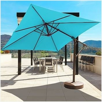 Krevco Patio Umbrellas Pertaining To Recent Small Cantilever Patio Umbrella Impressive Design » Erm Csd (View 11 of 15)