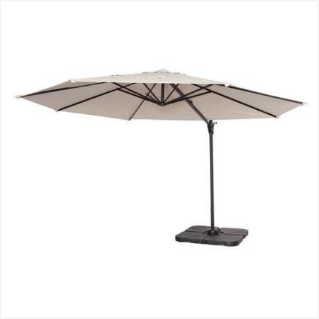 Krevco Patio Umbrellas Regarding 2018 Small Cantilever Patio Umbrella Impressive Design » Erm Csd (Gallery 12 of 15)