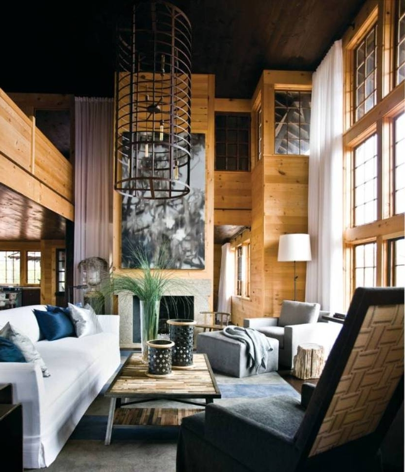 Lake House Wall Art Intended For 2017 Contemporary Lake House Interior Designs With Wall Art And Unique (View 6 of 15)