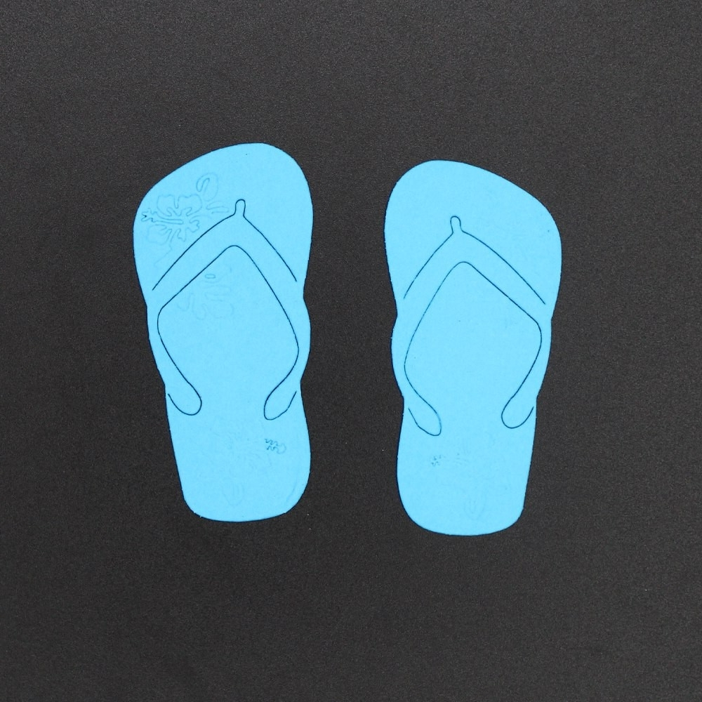 Large Metal Flip Flop Wall Art Inspirational 70 34Mm Embossing For Latest Flip Flop Wall Art (View 9 of 15)