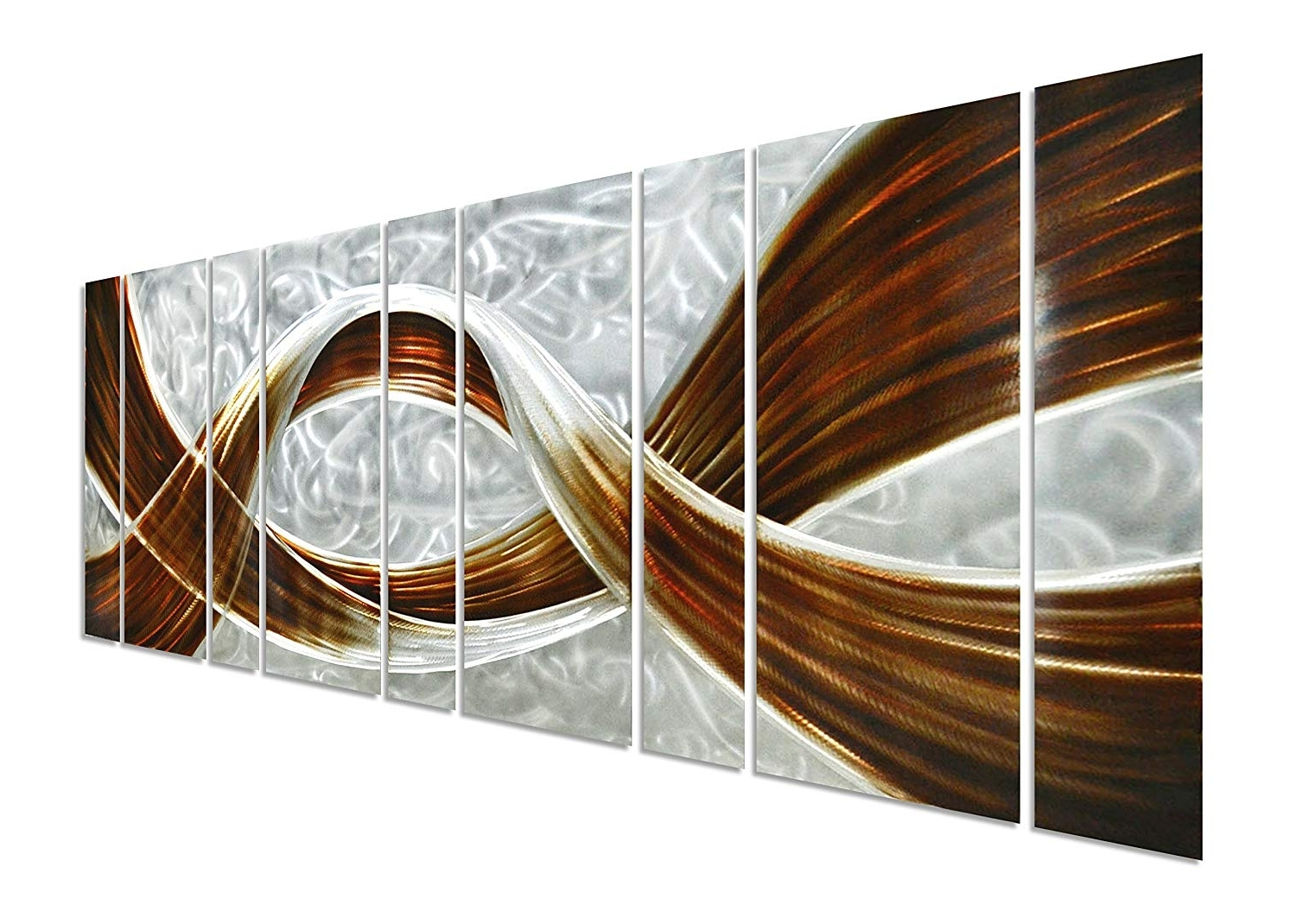 Large Metal Wall Art Pertaining To Most Recent Amazon: Pure Art Caramel Desire Metal Wall Art, Giant Scale (View 6 of 15)