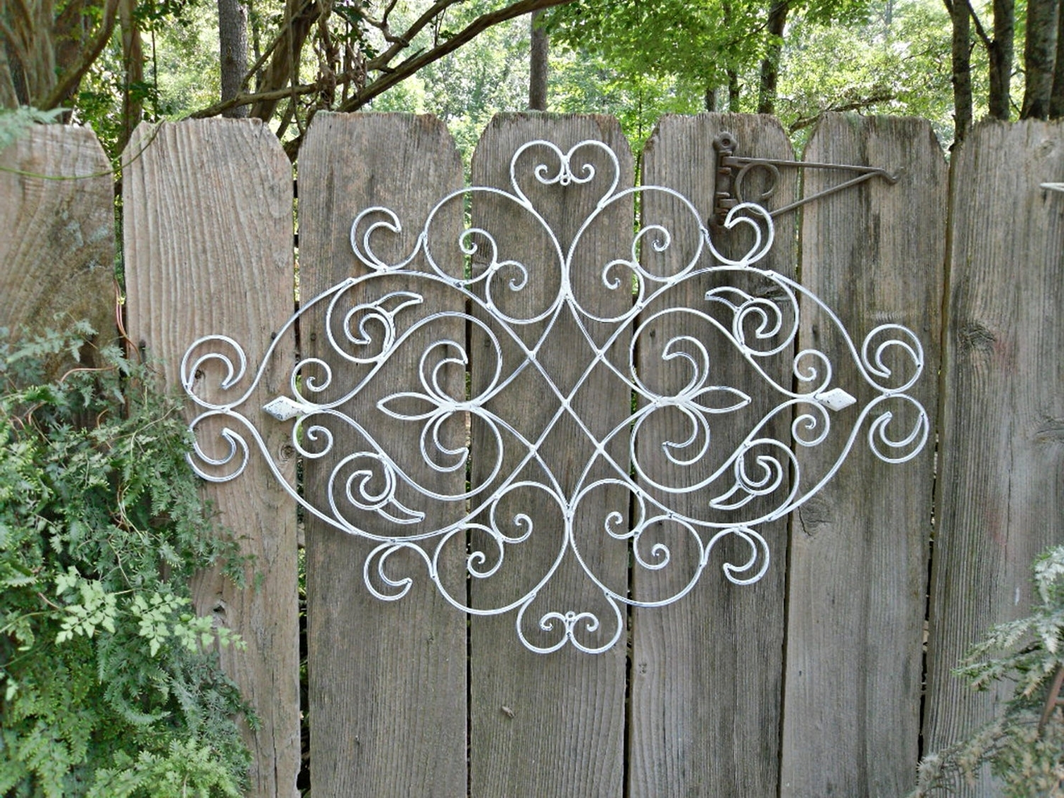 Large Outdoor Metal Wall Art Inside Most Recently Released Extra Large Outdoor Metal Wall Art White – Awesome Home (View 7 of 15)