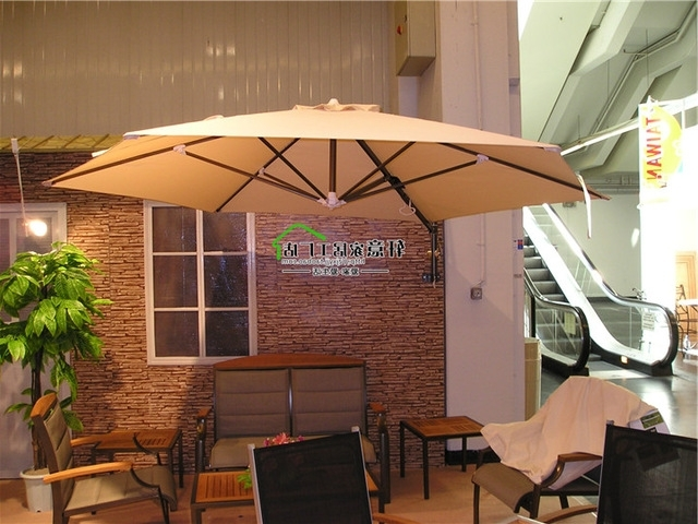 Large Outdoor Patio Umbrella Rome Umbrella Umbrellas Shed Wall In Well Known Hanging Patio Umbrellas (View 5 of 15)