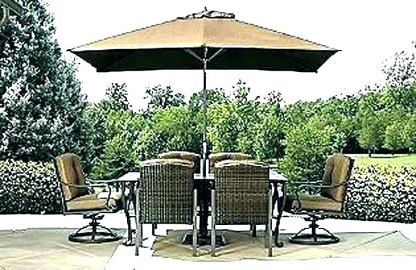 Large Patio Umbrellas Patio Large Patio Umbrellas Sears Umbrella Within Latest Sears Patio Umbrellas (View 5 of 15)