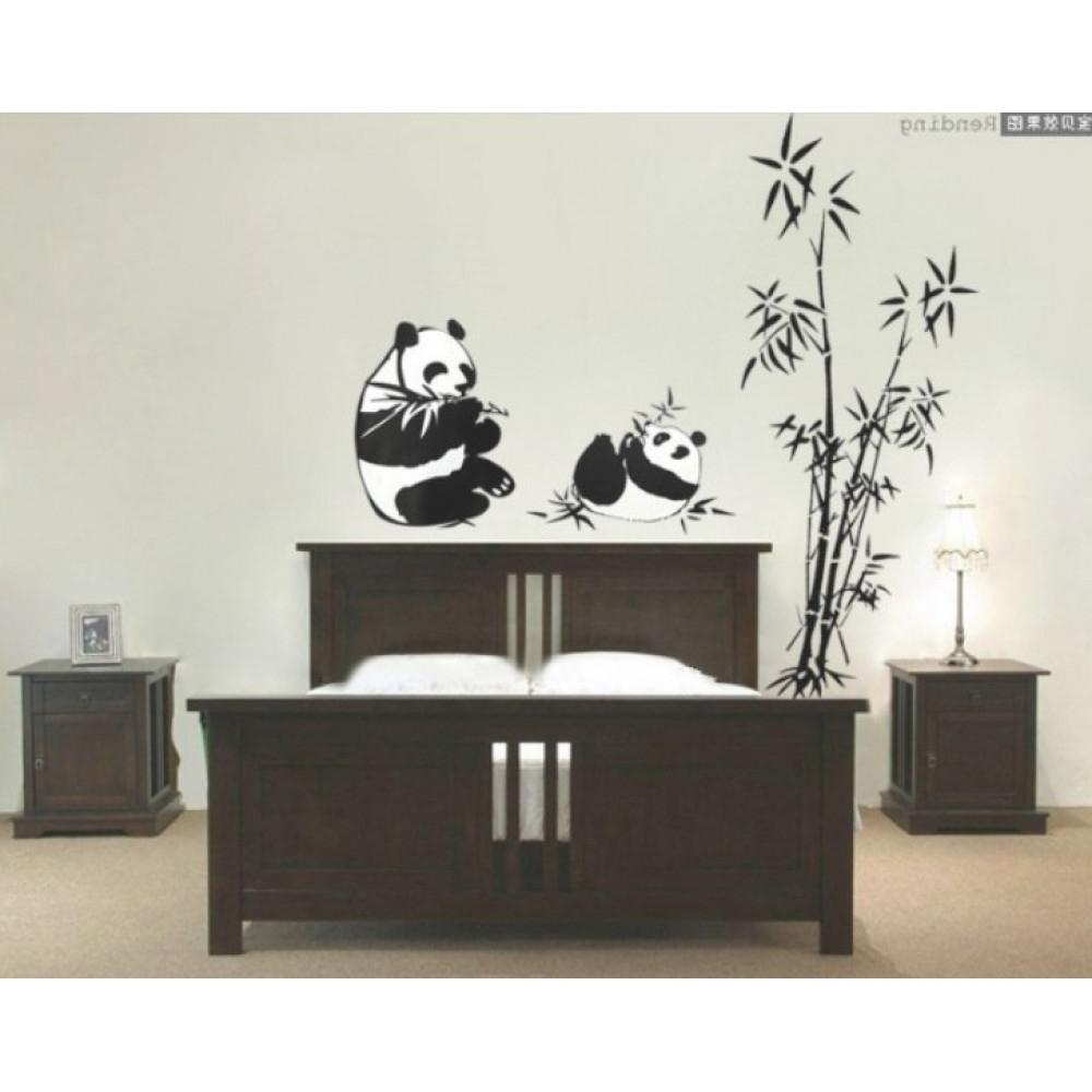 Latest Bamboo And Panda Wall Sticker (View 6 of 15)
