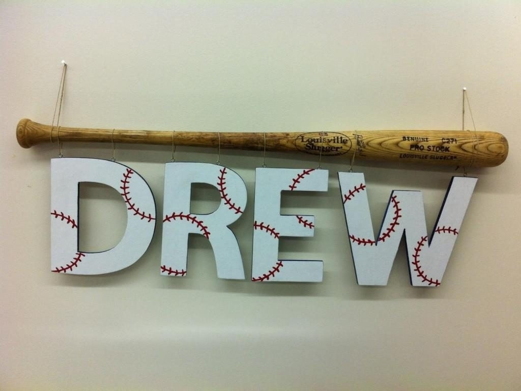 Latest Baseball Wall Art With Regard To Attractive Vintage Baseball Wall Art Vintage Baseball Room Decor (View 12 of 15)