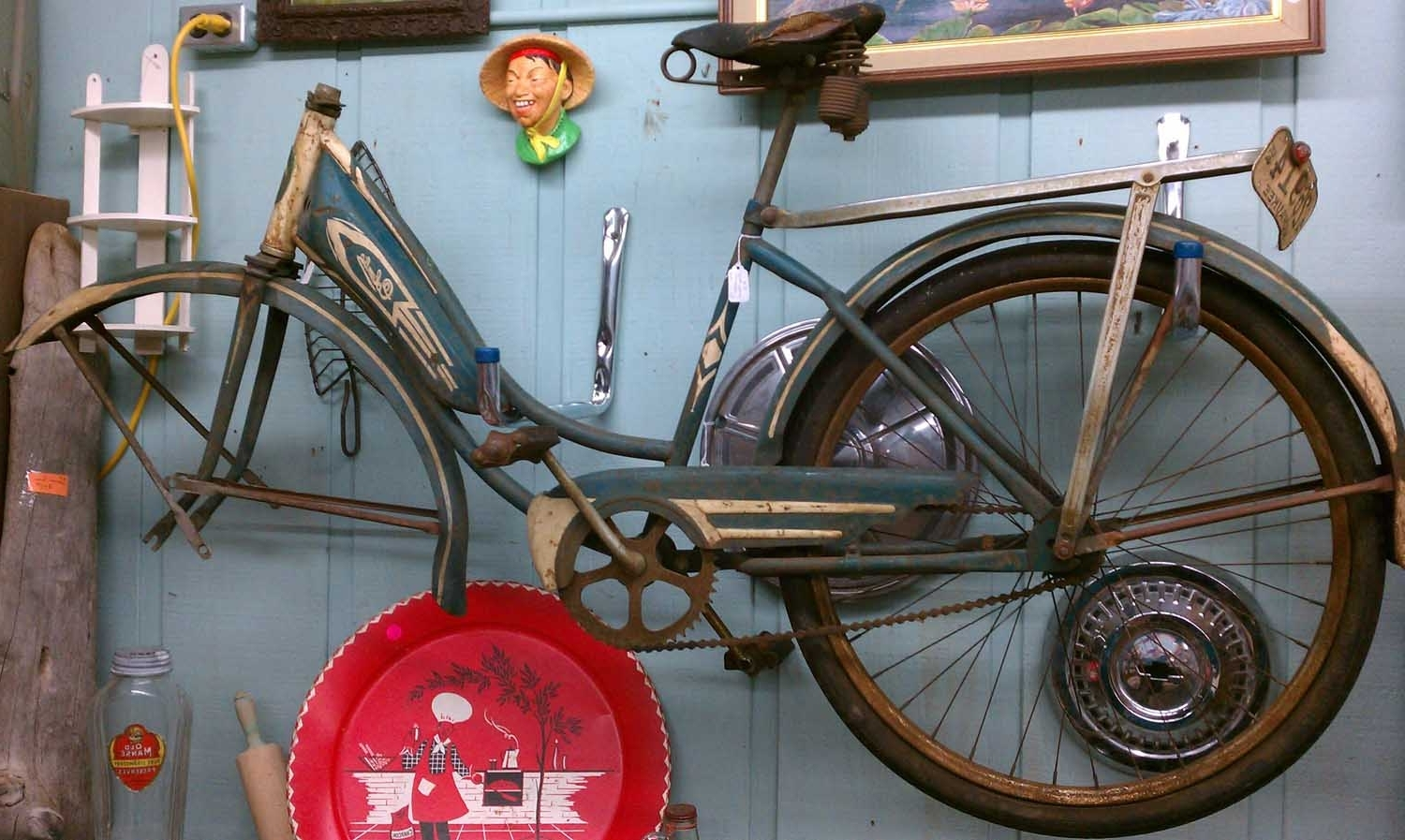 Latest Bicycle Wall Art Pertaining To Vintage Bicycle Wall Art : Andrews Living Arts – Nice Design Bicycle (View 8 of 15)