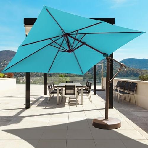 Latest Commercial Patio Umbrellas Sunbrella For Galtech International Market Umbrellas And Stands (View 10 of 15)