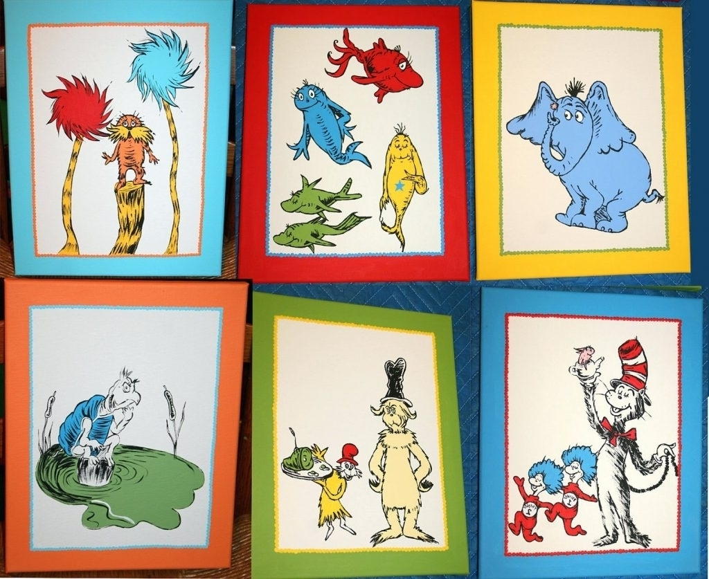 Latest Dr Seuss Wall Art With The Most Amazing Dr Epic Dr Seuss Wall Art – Prix Dalle Beton (View 6 of 15)