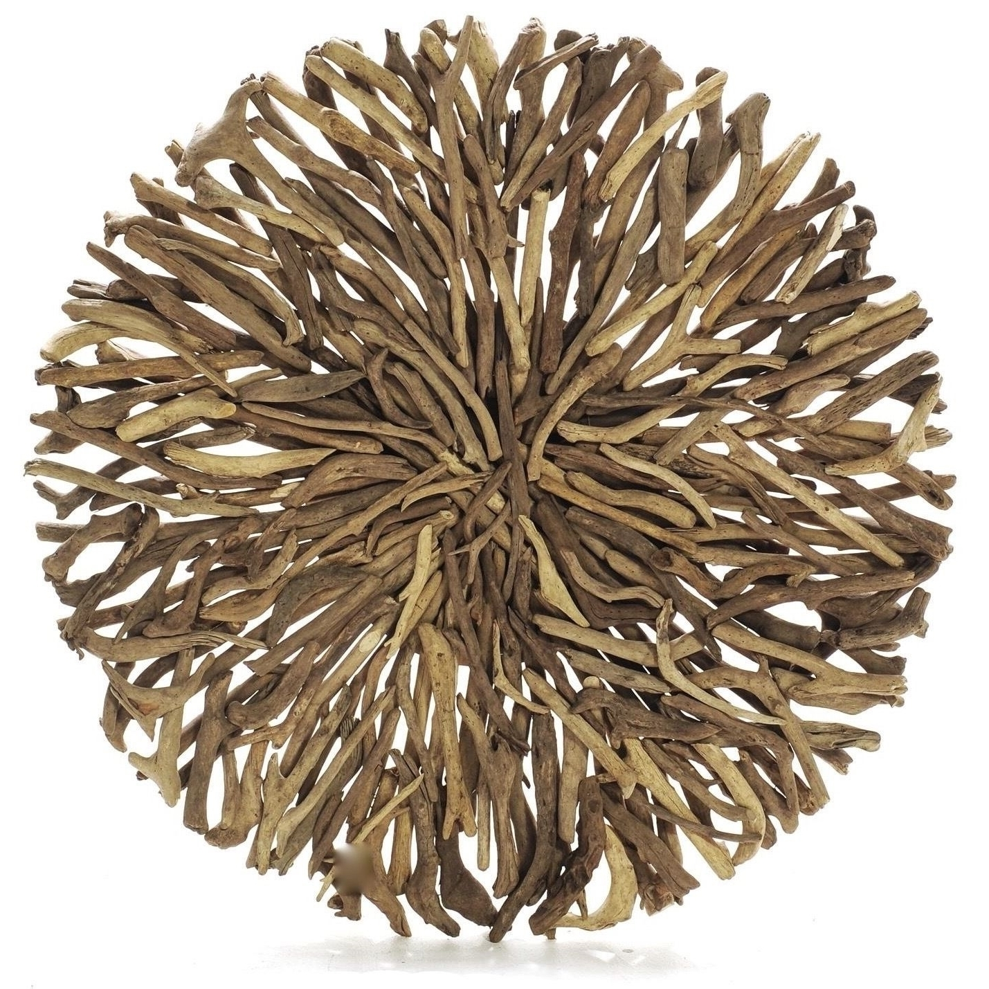 Latest Driftwood Round Wall Hanging Art Indoor Outdoor 55Cm (View 6 of 15)