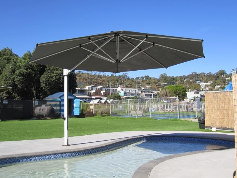Latest Eclipse Patio Umbrellas Throughout Lorne – Instant Shade Umbrellas (View 8 of 15)