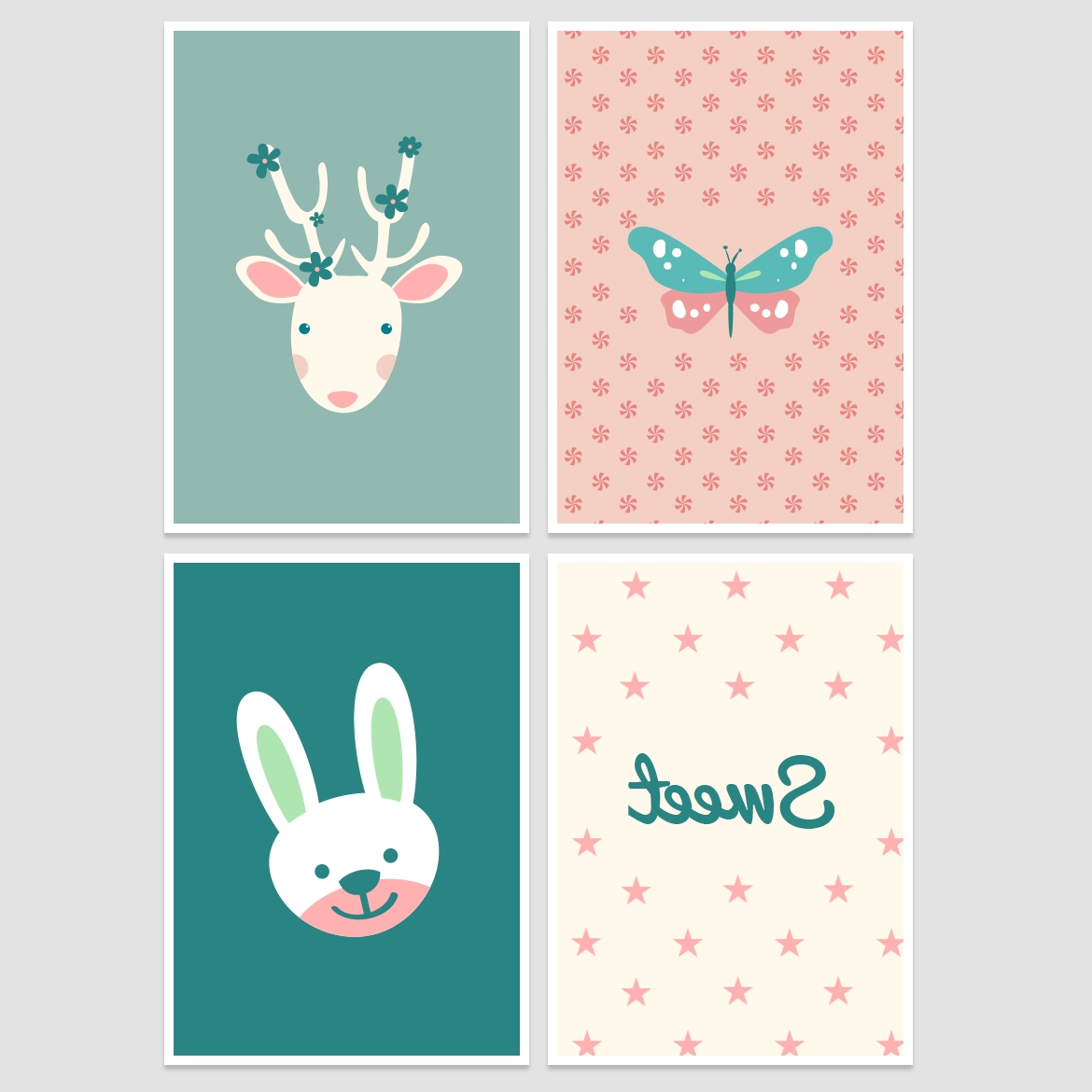 Latest Free Printable Wall Art Decors Inside Nursery Wall Decor – Free Printable! – Belivindesign (View 9 of 15)