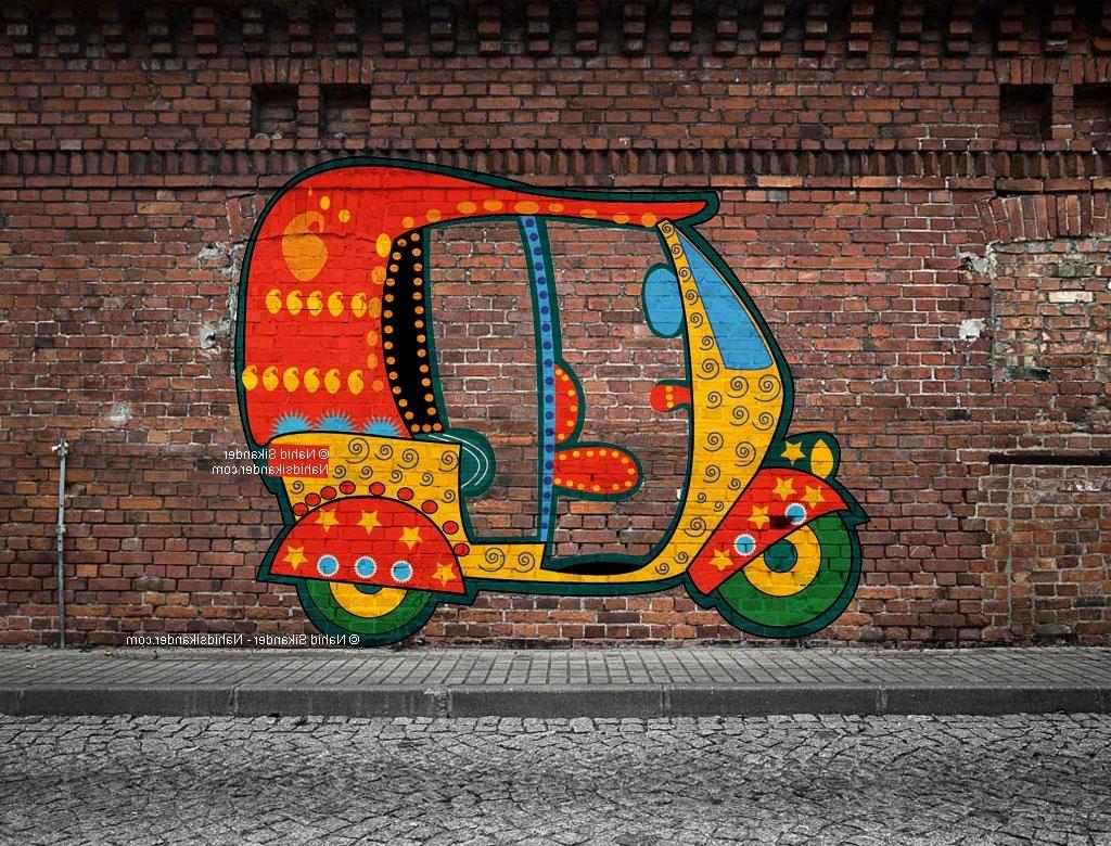 Latest Graffiti Wall Art Inside Graffiti Art – Nahid Sikander (View 7 of 15)