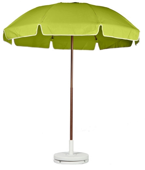 Latest Green Patio Umbrellas Intended For Umbrellas American Trading Co Elegant Green Patio Umbrella For  (View 12 of 15)