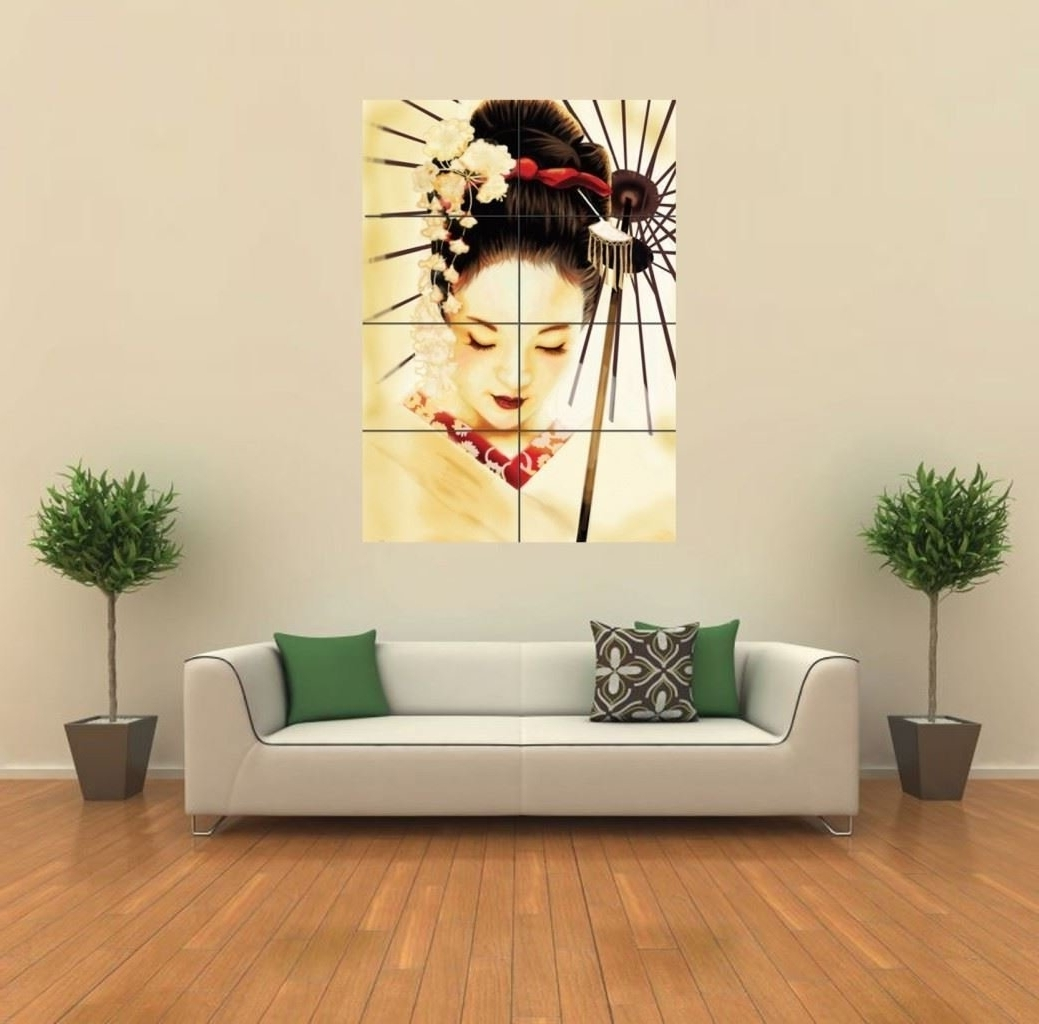 Latest Japanese Wall Art Within Japanese Wall Prints: Amazon.co (View 8 of 15)
