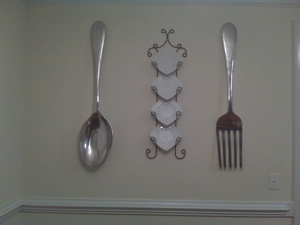 Latest Large Fork And Spoon Wall Decor Photo : Large Fork And Spoon Wall In Fork And Spoon Wall Art (View 12 of 15)