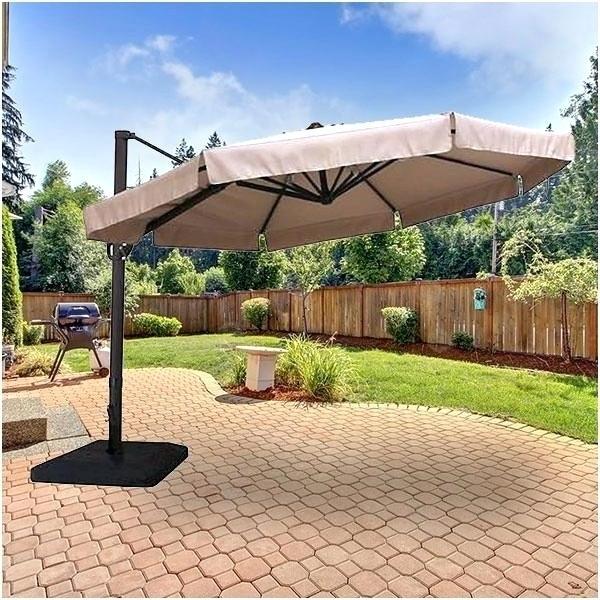 Latest Menards Patio Umbrellas Within Menards Patio Umbrellas Offset Rella Menards Offset Patio Umbrellas (View 2 of 15)