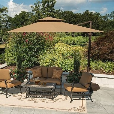 Latest Sams Club Patio Umbrella 11 Ft Beige Cantilever Umbrella Sam S Club Regarding Sams Club Patio Umbrellas (View 6 of 15)