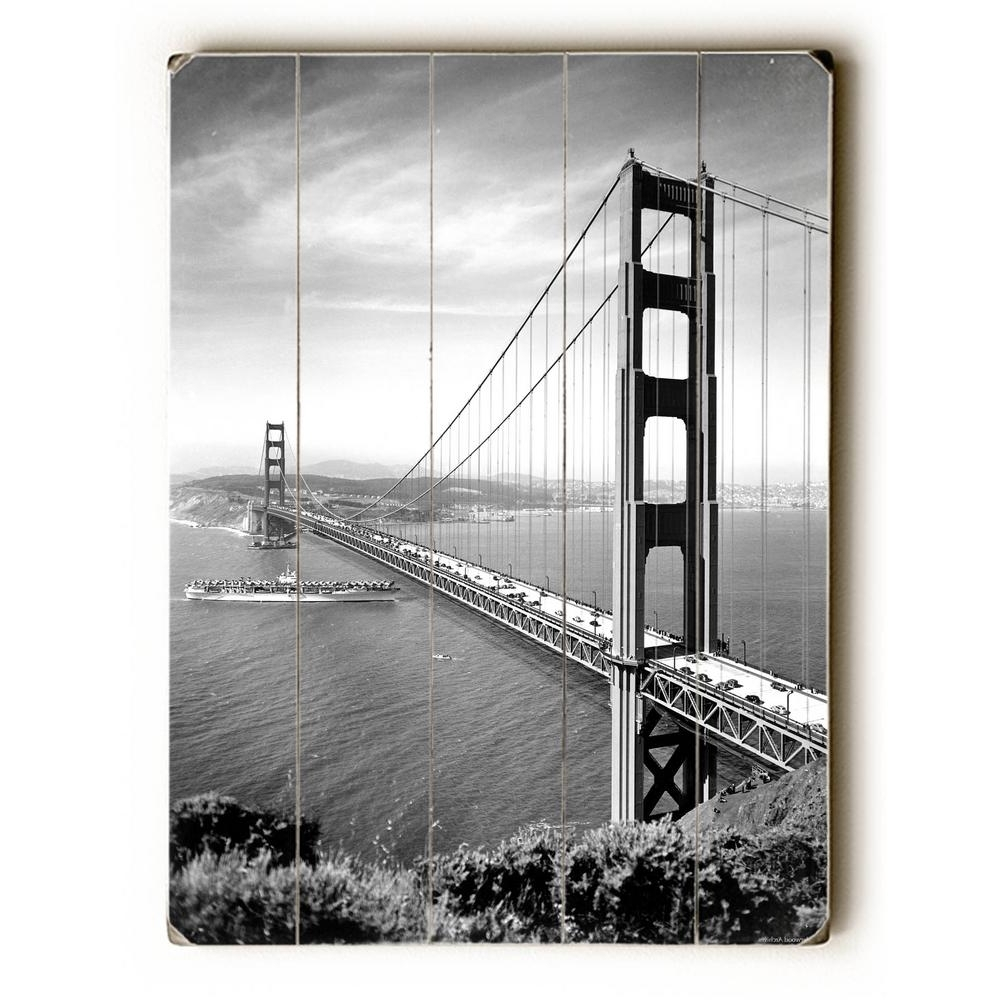 Latest San Francisco Wall Art For Artehouse 30 In. X 40 In (View 10 of 15)