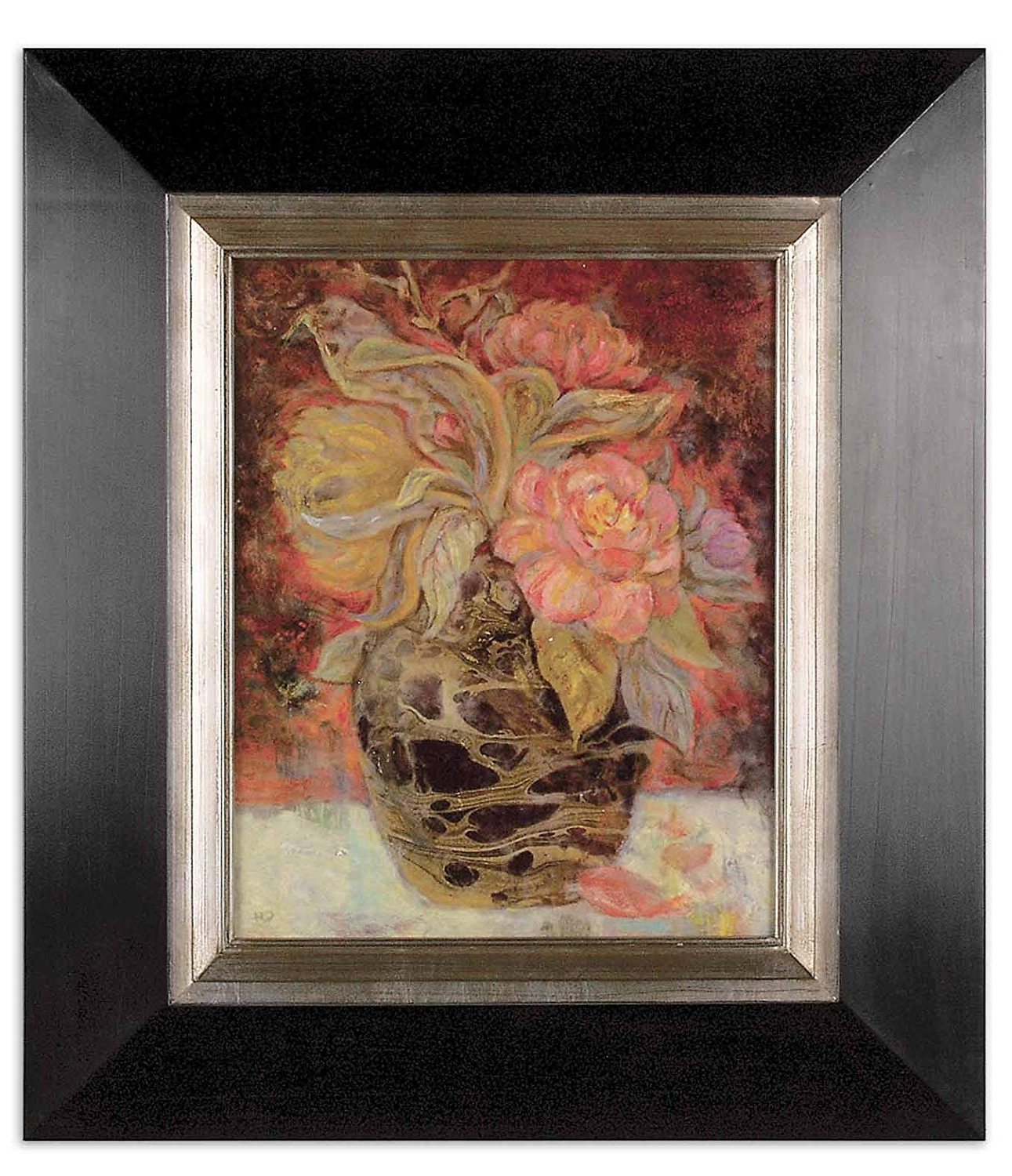 Latest Uttermost Wall Art With Regard To Amazon: Uttermost Floral Bunda Wall Decor: Oil Paintings (View 5 of 15)