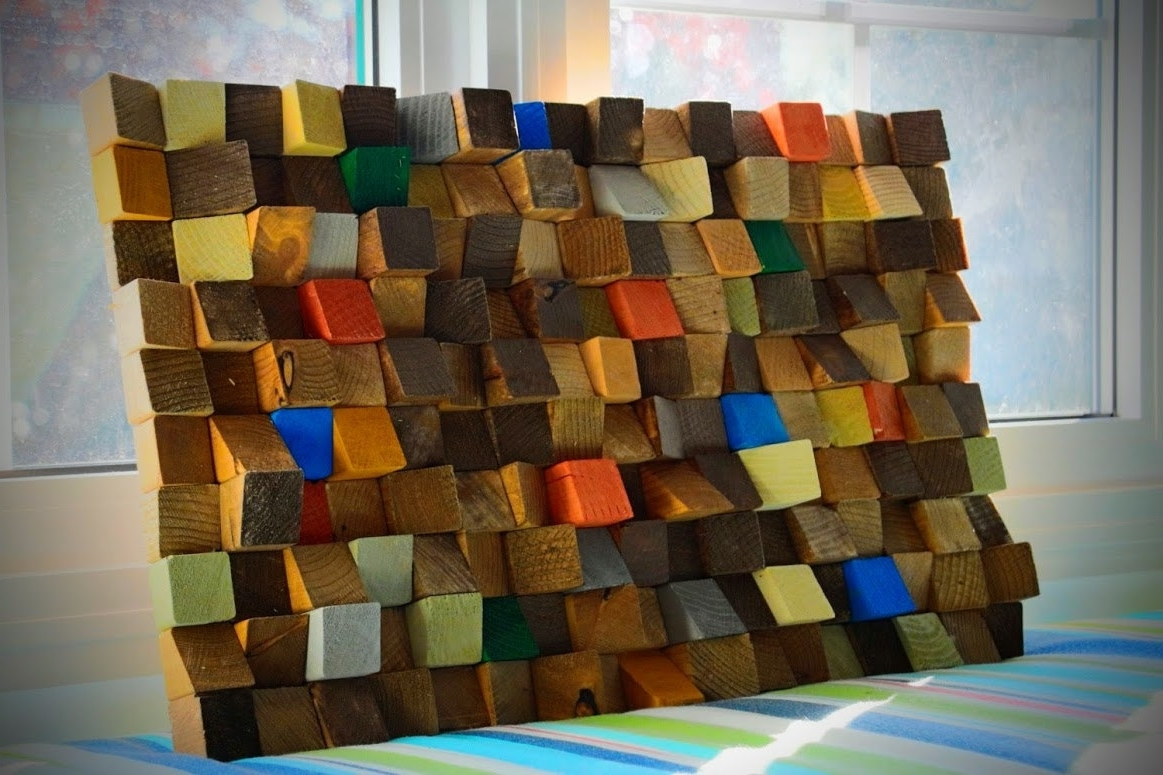 Latest Wood Art Wall Pertaining To Buy Reclaimed Wood Wall Art, Rustic Wall Art, Wooden Art Wall (View 7 of 15)