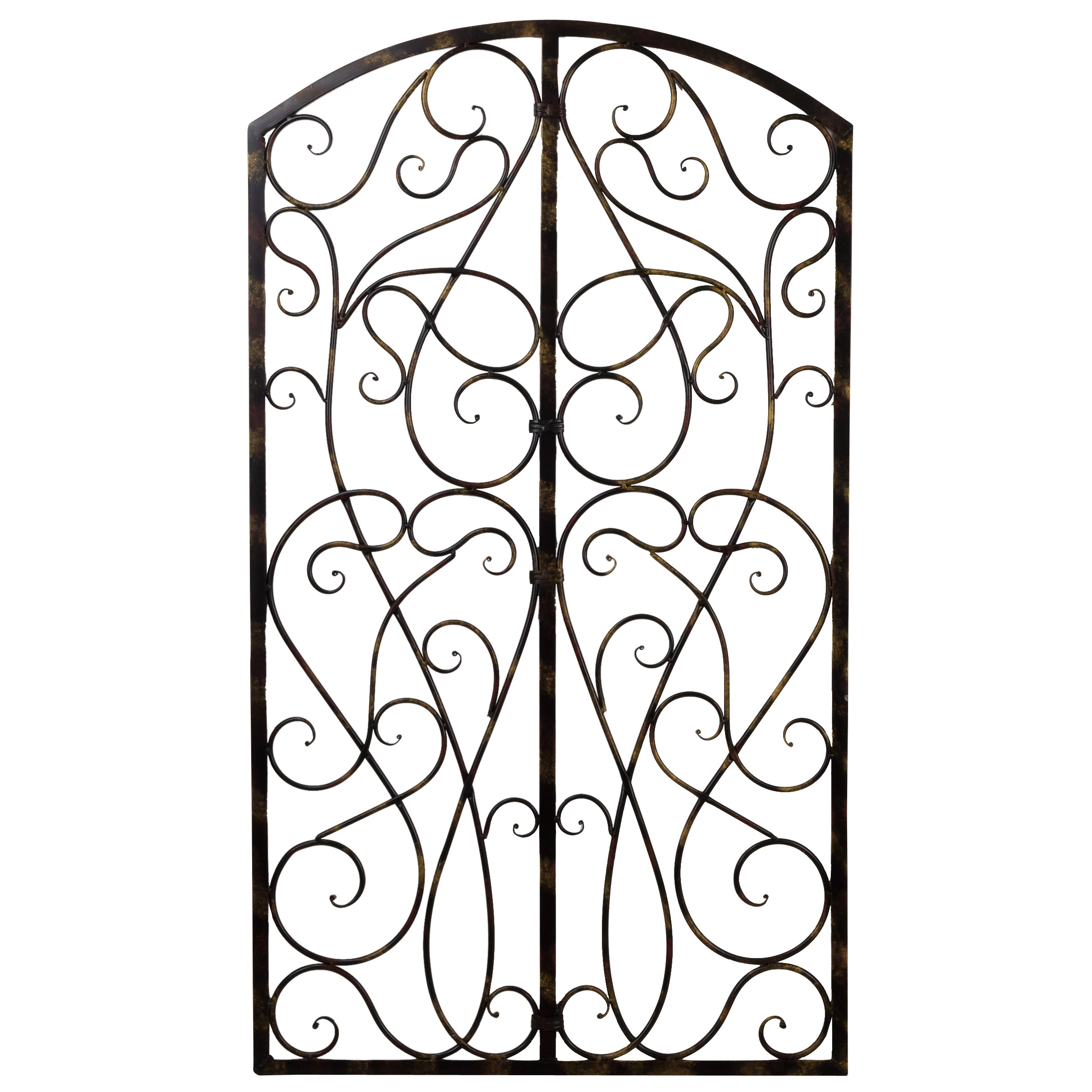Latest Wrought Iron Wall Art For Wrought Iron Scroll Wall Art – Elitflat (View 12 of 15)