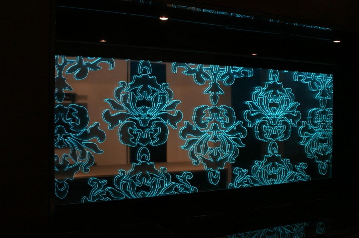 Led Wall Art Inside Most Popular Wall Art Design Ideas: Abstract Floral Led Wall Art Adorable – Super (View 7 of 15)