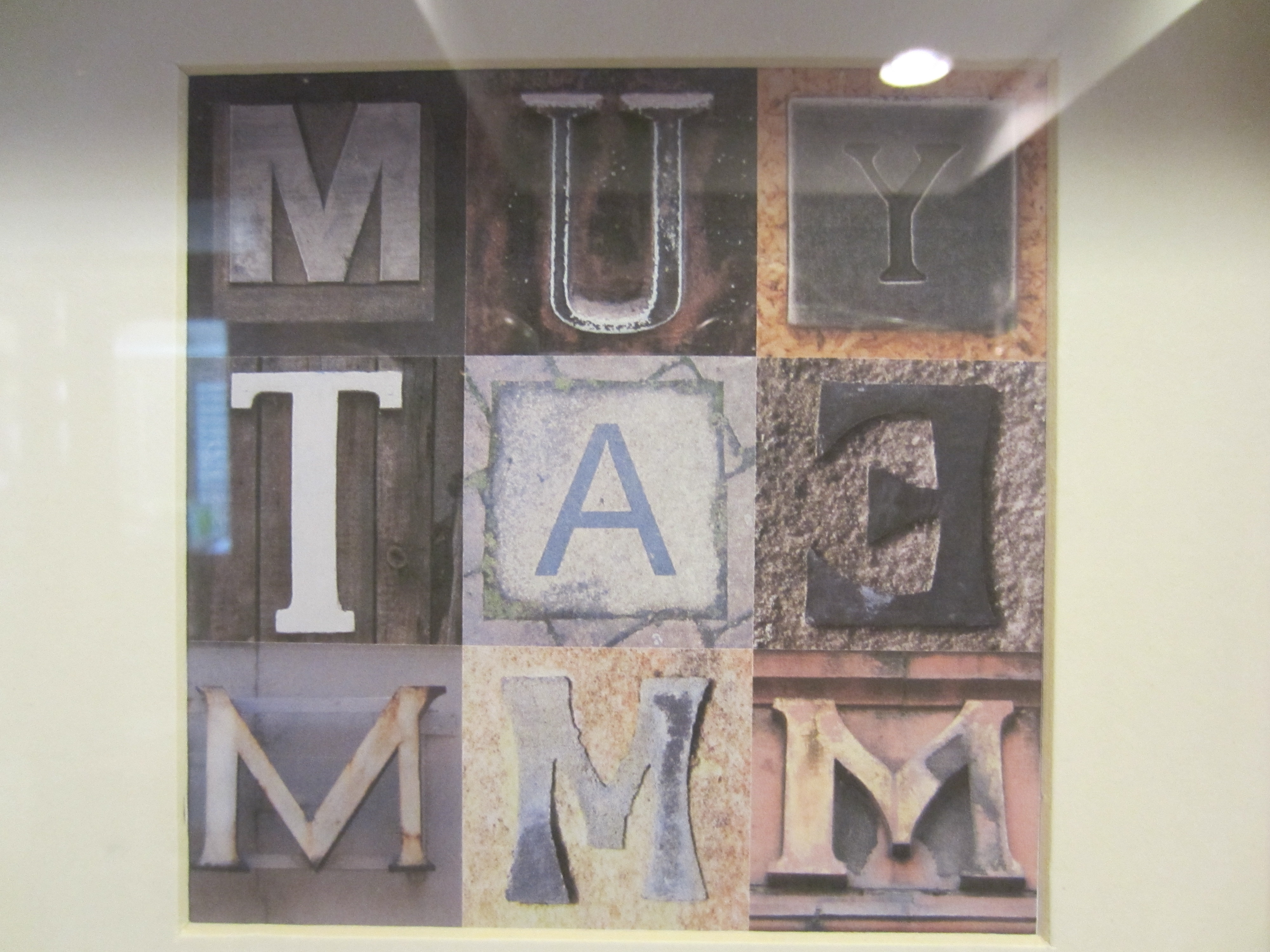 Letter Wall Art Intended For Most Current Letter And Number Diy Wall Art – Diy Inspired (View 4 of 15)