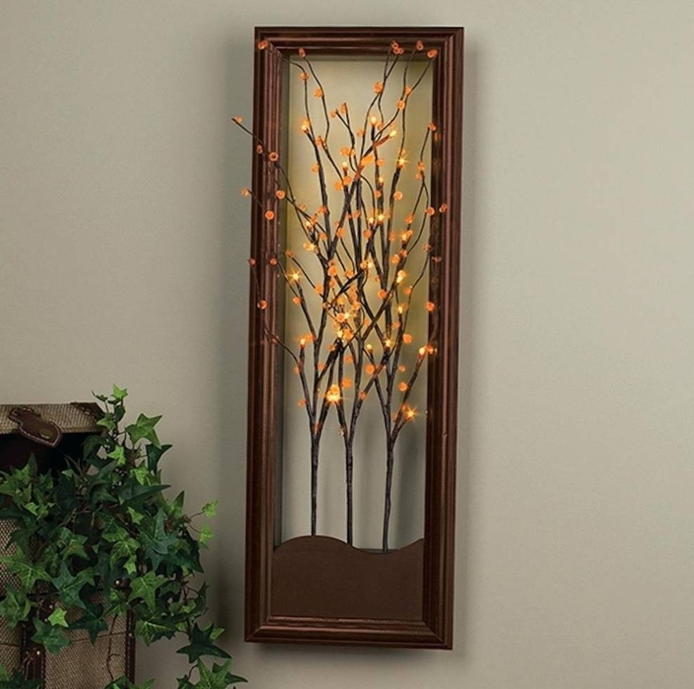 Lighted Wall Art Cool Lighted Wall Art – Wall Decoration And Wall In Most Current Lighted Wall Art (View 7 of 15)