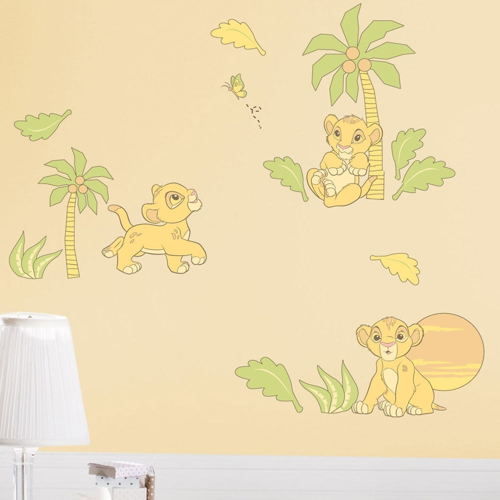 Lion King Wall Art Pertaining To Popular Exelent Lion King Wall Decor Sketch – The Wall Art Decorations (View 8 of 15)