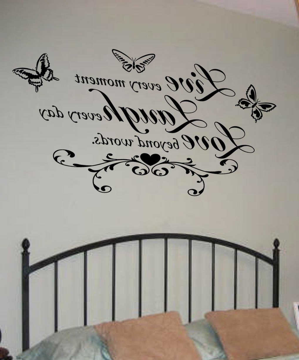 Live Laugh Love Wall Art For Newest Live Laugh Love Wall Art Decal (View 7 of 15)