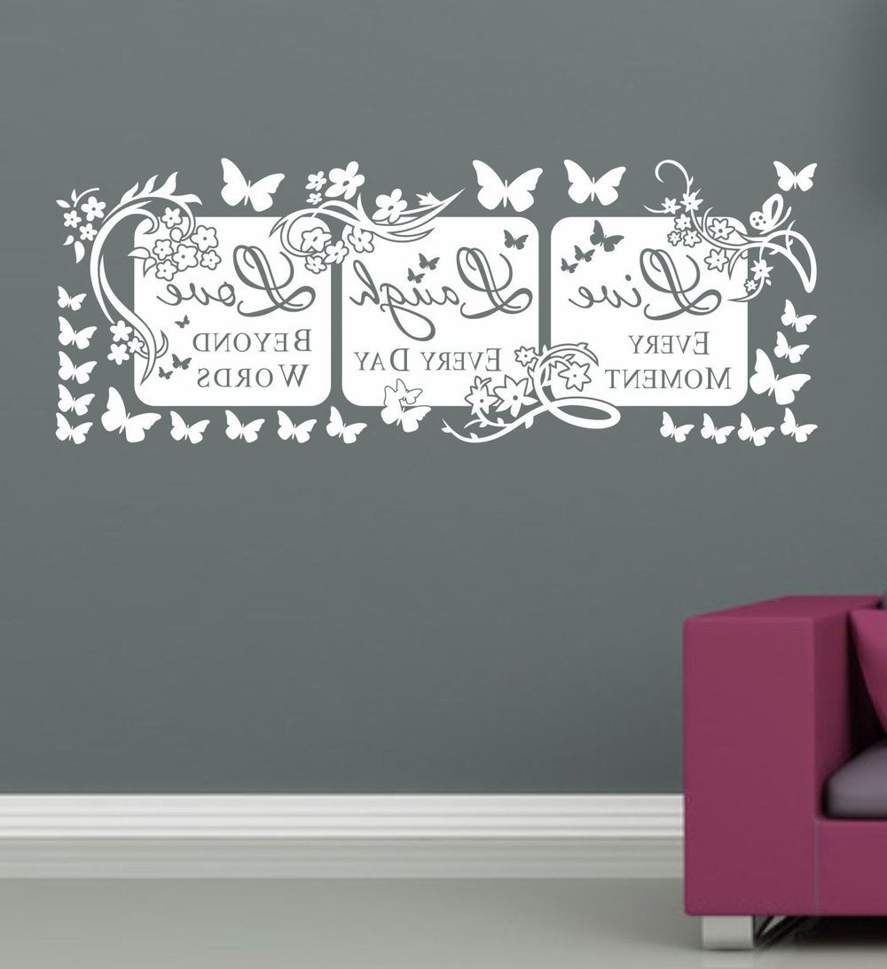 Live Love Laugh Quotes Design Ideas Of Live Laugh Love Wall Decals For Most Recent Live Laugh Love Wall Art (View 14 of 15)