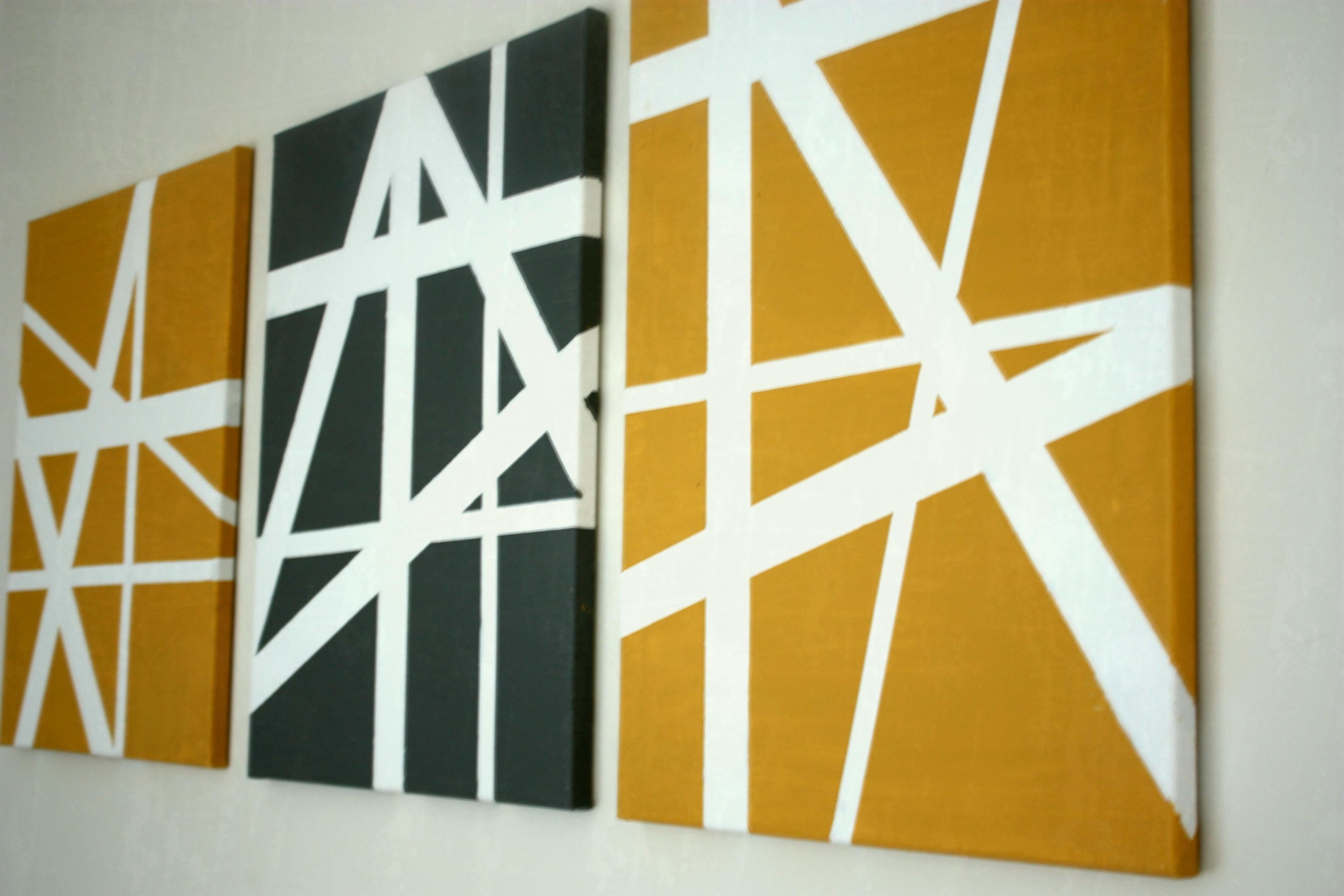 Living Room : Creative Decor Diy Canvas Wall Art Ideas Viewsize Throughout Favorite Wall Art Diy (View 13 of 15)