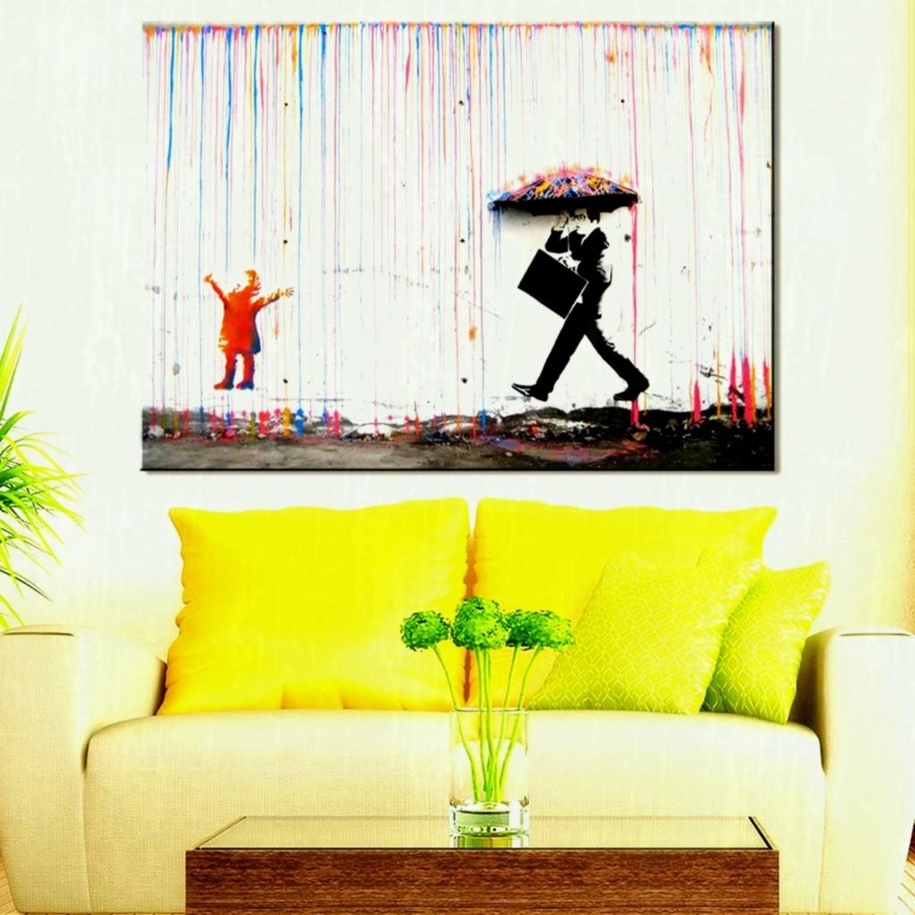 Living Room Painting Wall Art In Most Popular Living Room Paintings Oil Canvas Buddha Wall Art – Creative Living (View 3 of 15)