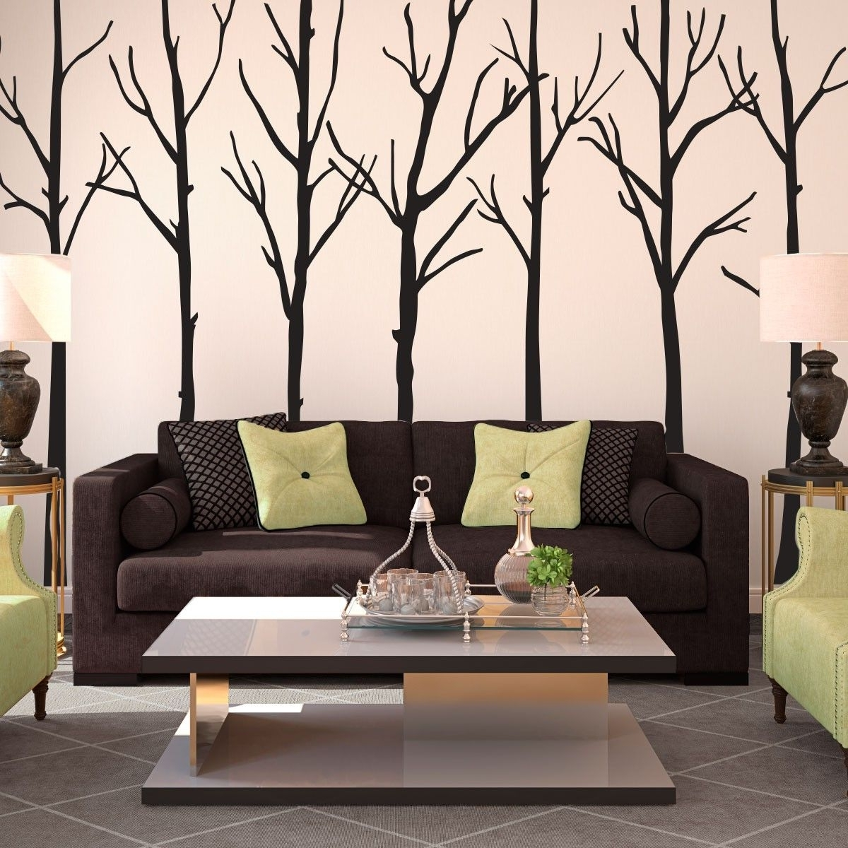 Living Room Wall Art Within Well Known Creative Design Amazon Living Room Decor Contemporary Wall Decor  (View 4 of 15)