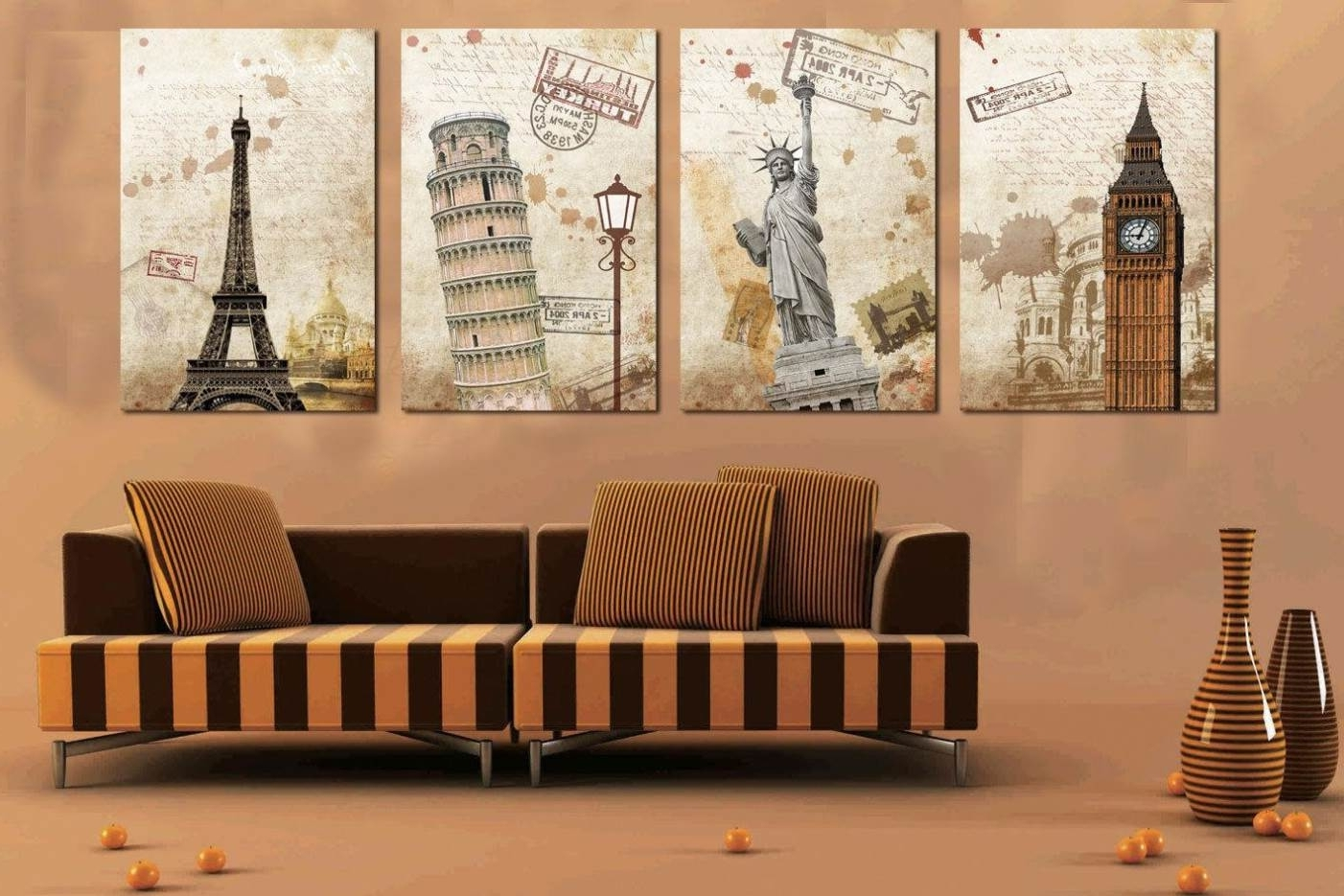 Long Canvas Wall Art Inside Fashionable Wall Art Canvas Is Can You Get In Suitable Looking And Appearance (View 7 of 15)