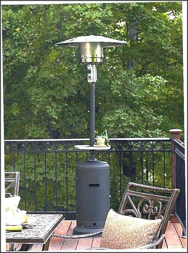 Lovely Costco Patio Heaters And Outdoor Patio Propane Heater 3 98 Regarding Widely Used Kirkland Patio Umbrellas (View 8 of 15)