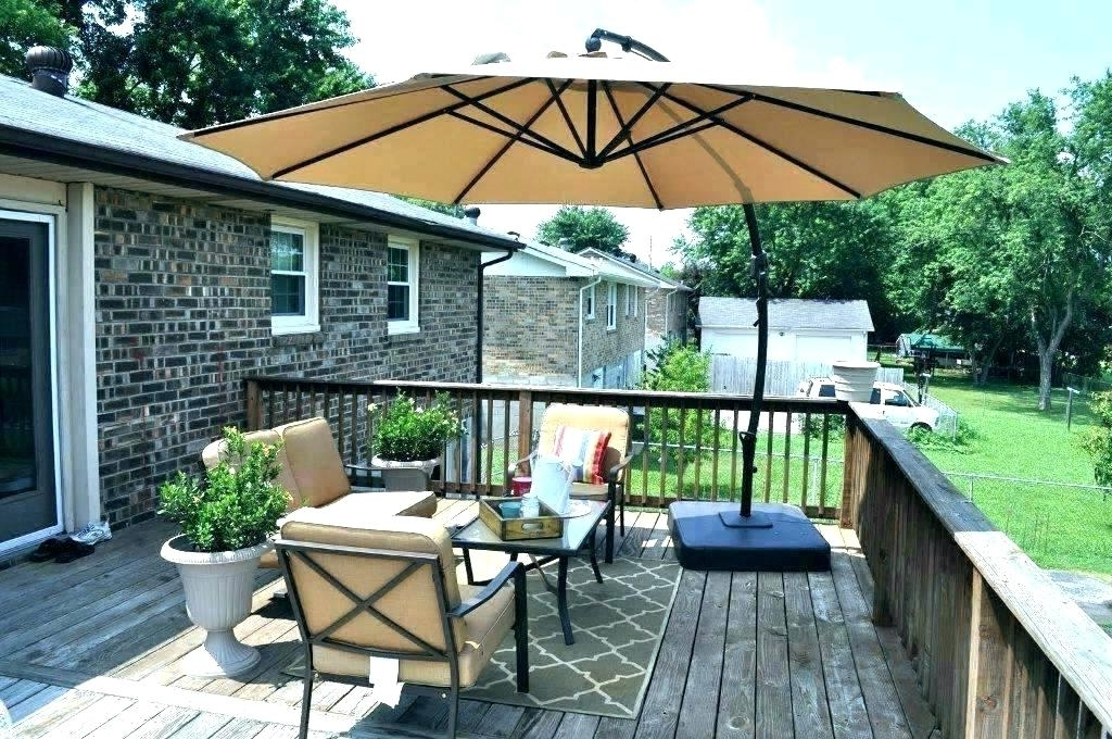 Lowes Patio Umbrella Covers S Canopy Replacement Cover Furniture Regarding 2017 Lowes Cantilever Patio Umbrellas (View 6 of 15)