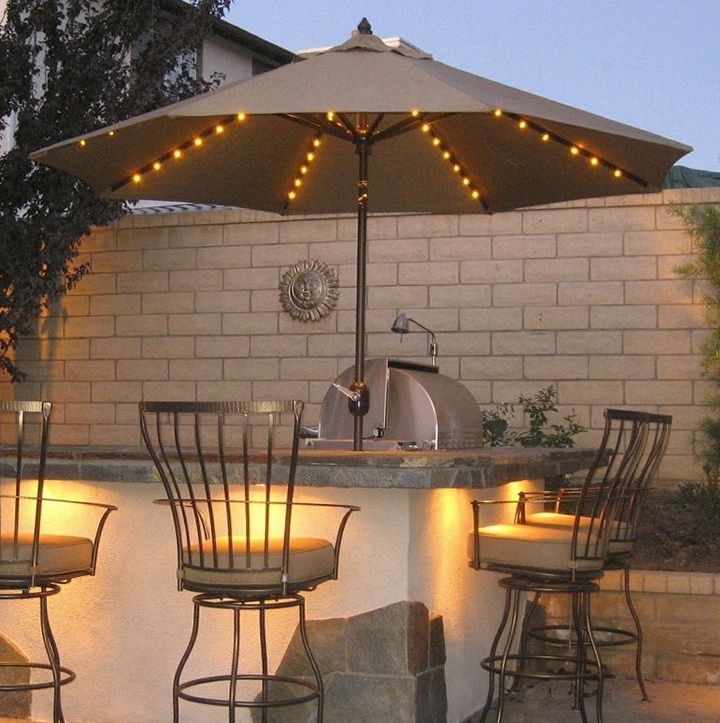Lowes Patio Umbrellas With Favorite Patio: Outstanding Outdoor Bar Stools Lowes Plastic Lawn Chairs (View 4 of 15)