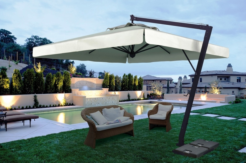 Luxury Patio Umbrellas (View 7 of 15)