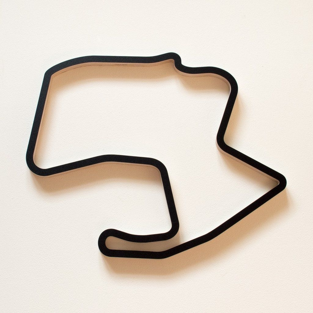 Mazda, Wall Art Sculpture And Wooden With Regard To Most Recent Race Track Wall Art (View 7 of 15)