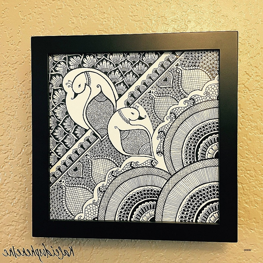 Mehndi Wall Art New Easy Flower Henna Simple Floral Mehendi Design Inside Recent Henna Wall Art (View 9 of 15)