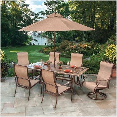Menards Patio Umbrellas In Most Current Patio Umbrellas Menards » Purchase Patio Sets House Trend Design (View 3 of 15)