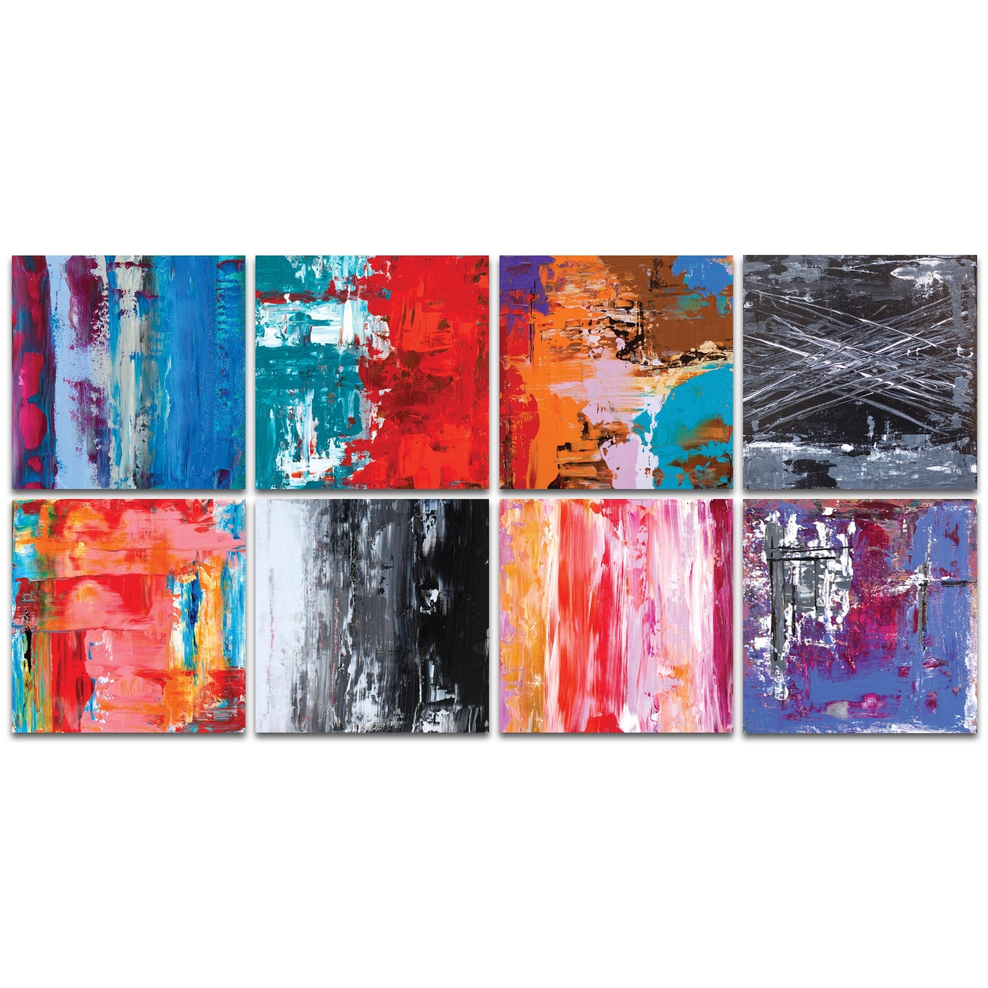 Metal Art Studio – Urban Windows Largeceleste Reiter – Abstract For Latest Abstract Wall Art (View 4 of 15)