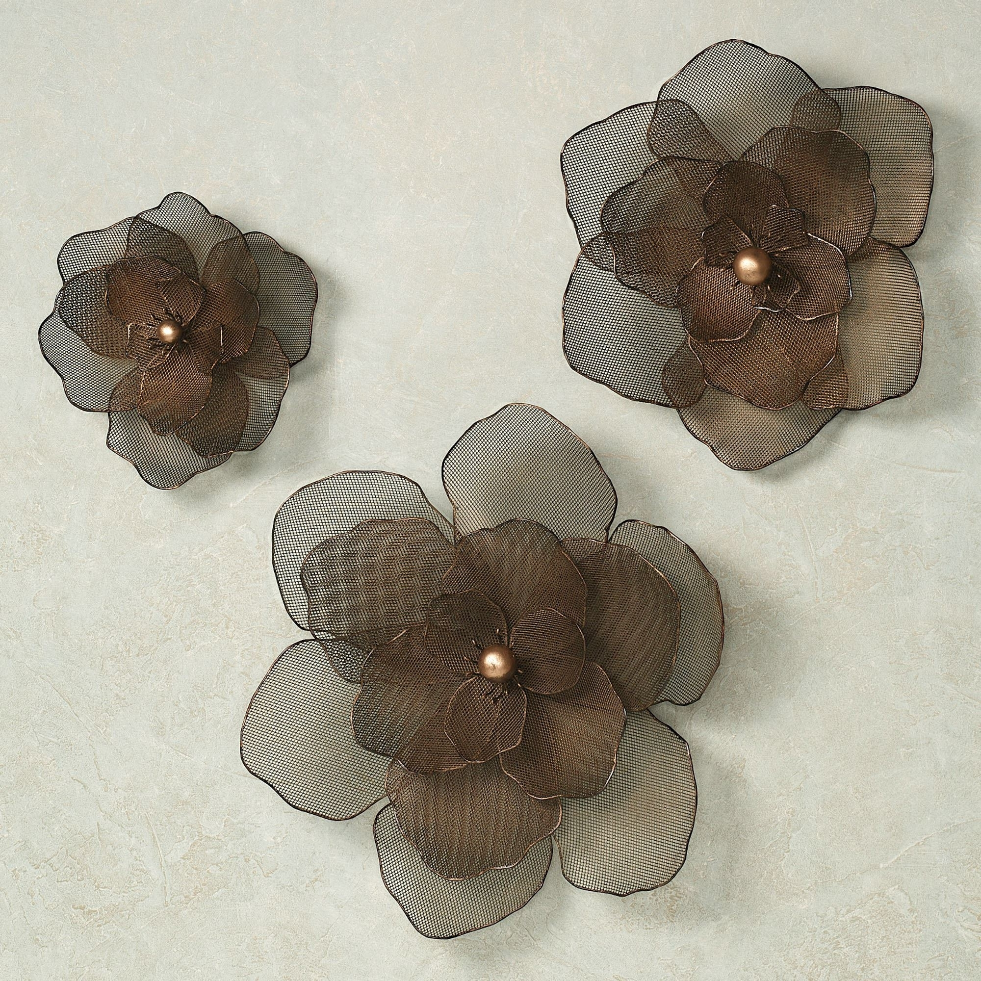 Metal Flowers Wall Art With Widely Used Amazing Metal Flower Wall Art 6 Cq6129 1 Jpg Resizeid 4 Resizeh  (View 10 of 15)