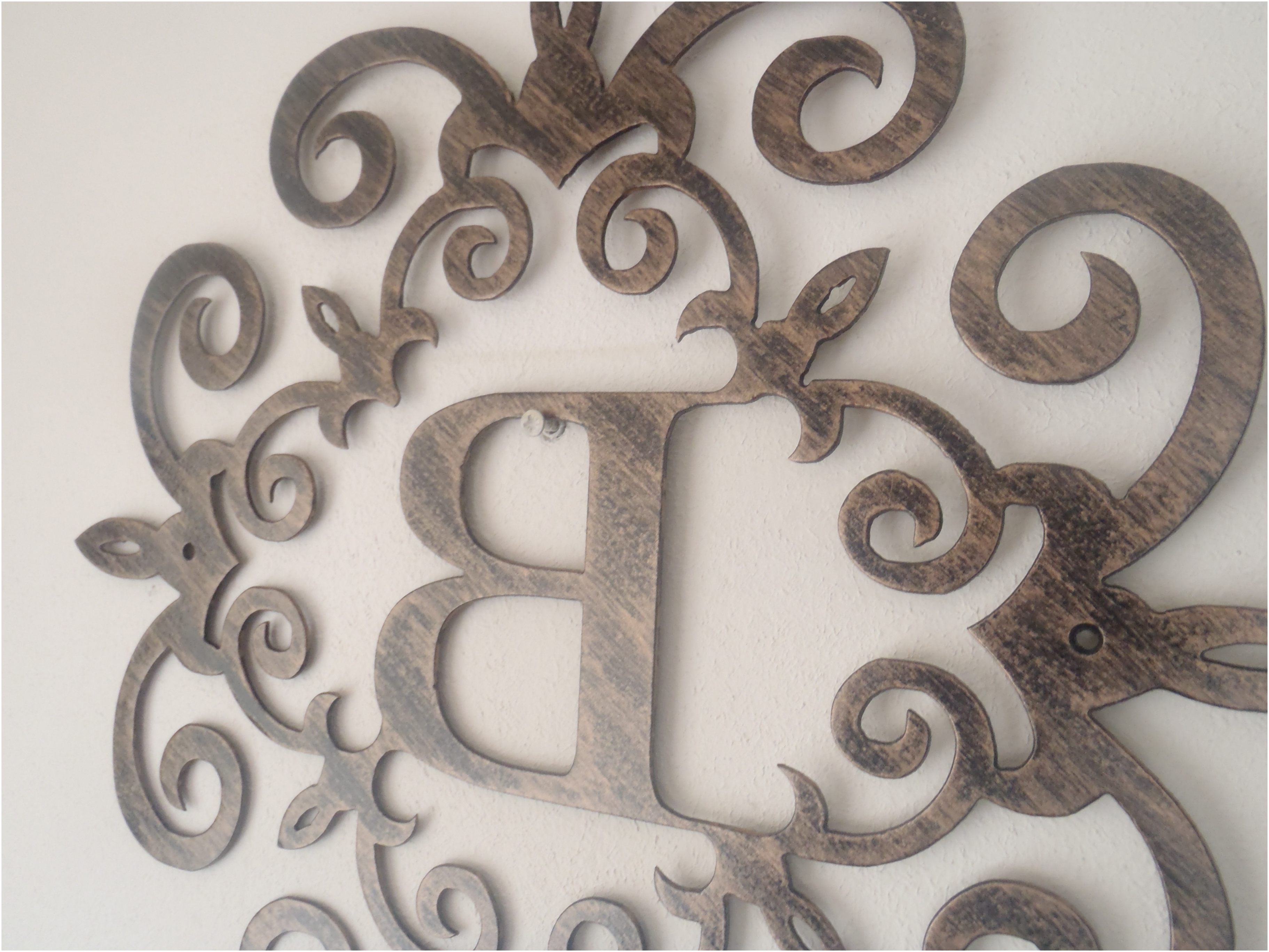 Metal Letter Wall Art Inside Newest Metal Letter Wall Art Picture – Vaydepxinh (View 4 of 15)