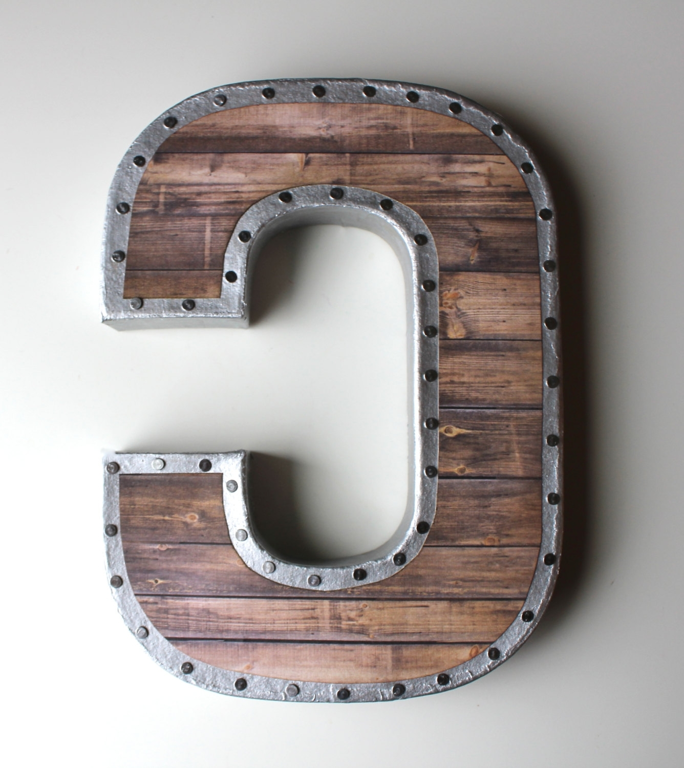 Metal Letter Wall Art With Most Current Vintage Metal Letters For The Wall – Blogtipsworld (View 6 of 15)