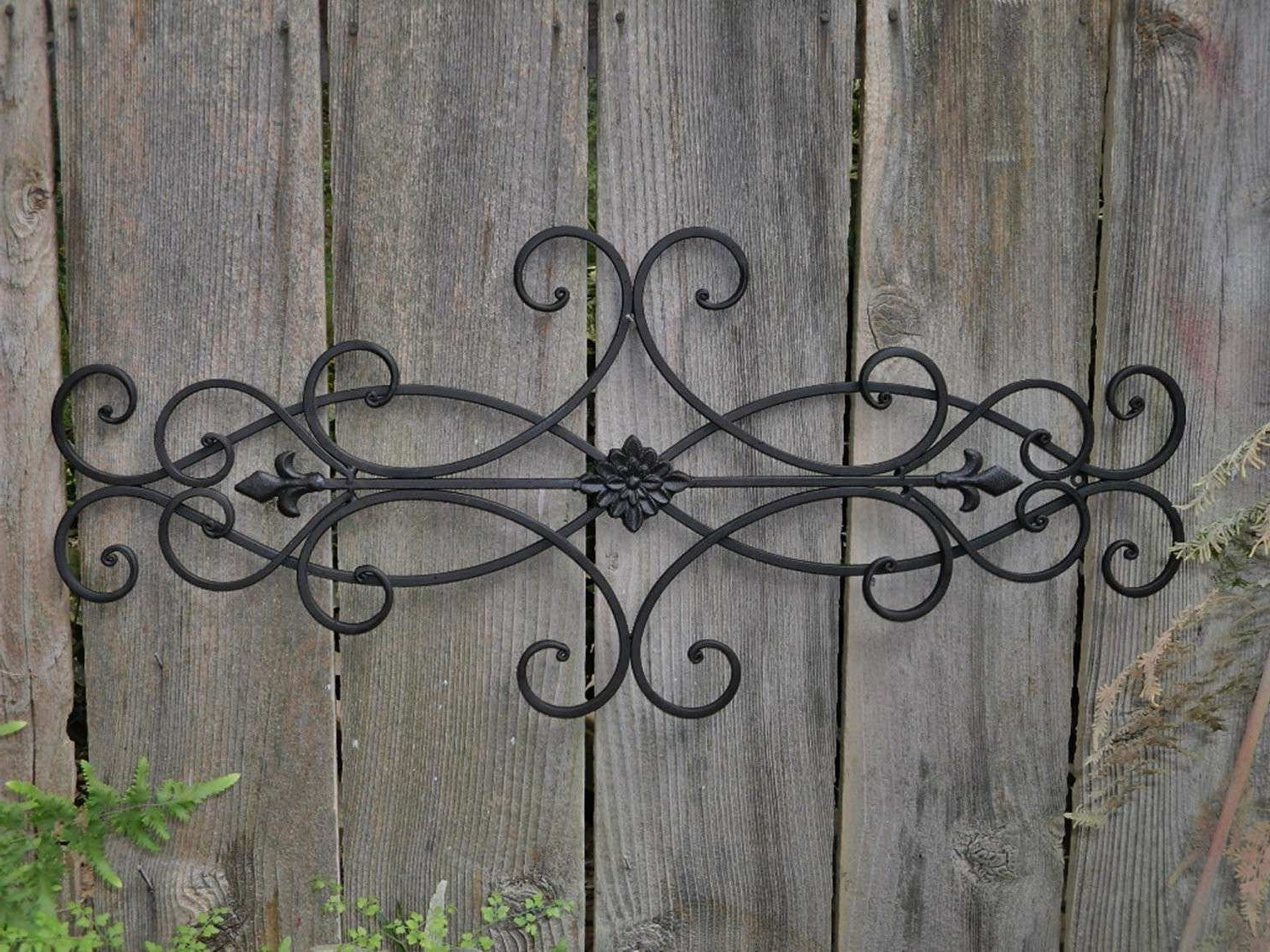 Metal Outdoor Wall Art With Regard To Most Recently Released Metal Outdoor Wall Decor Elegant Good Outdoor Wall Art Wrought Iron (View 10 of 15)