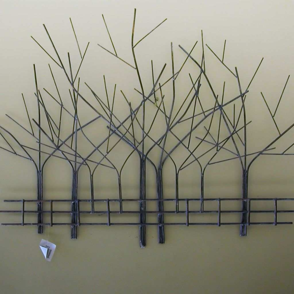 Metal Tree Wall Art New Art Sculptures For Home Metal Tree Wall Art Within Famous Metal Wall Art Trees (View 6 of 15)