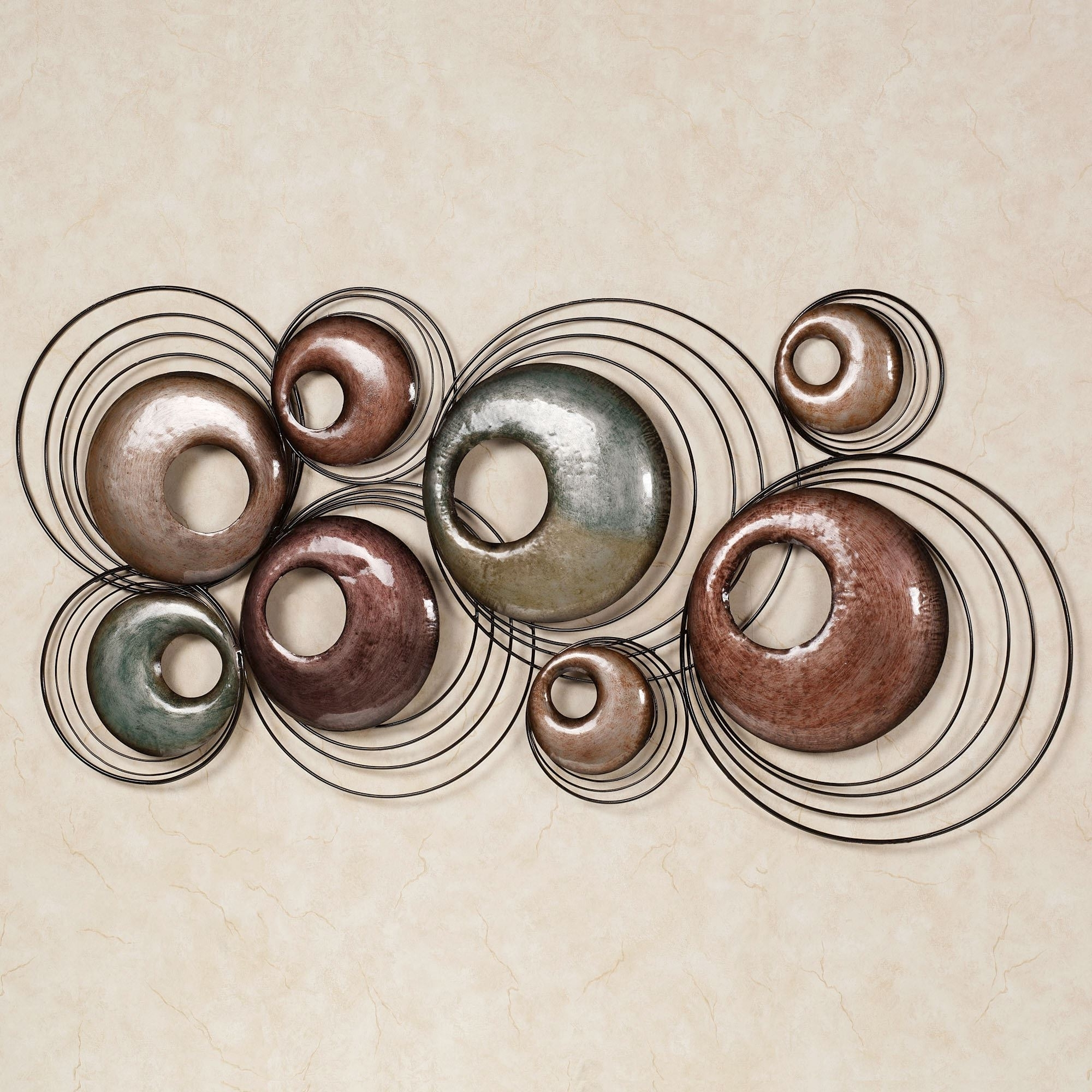 Metal Wall Art Sculptures With Most Recent Echo Metal Wall Sculpture Art (View 7 of 15)